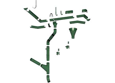 Водосточная система МП Престиж